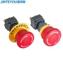 Waterproof E-stop emergency stop switch led