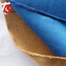 Polyester Brushed Suede Fabric