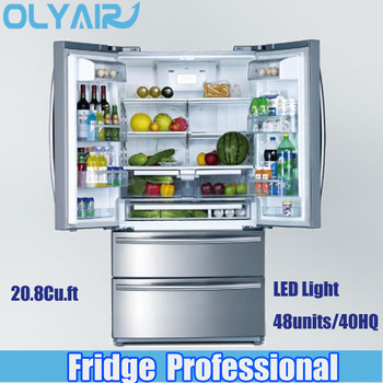 590L 20.8cu.ft side by side refrigerator