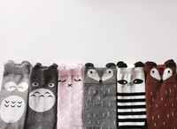 Babies/Toddlers Knee High Tube Animal Head Socks 0-12M/12-24M
