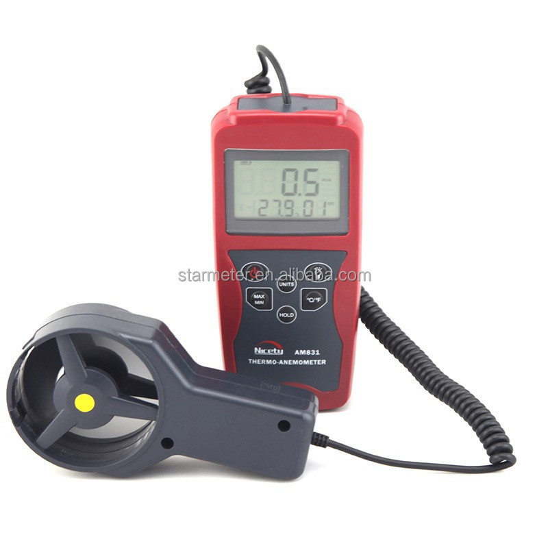 AM831 Digital Anemometer Thermo-hygrometer