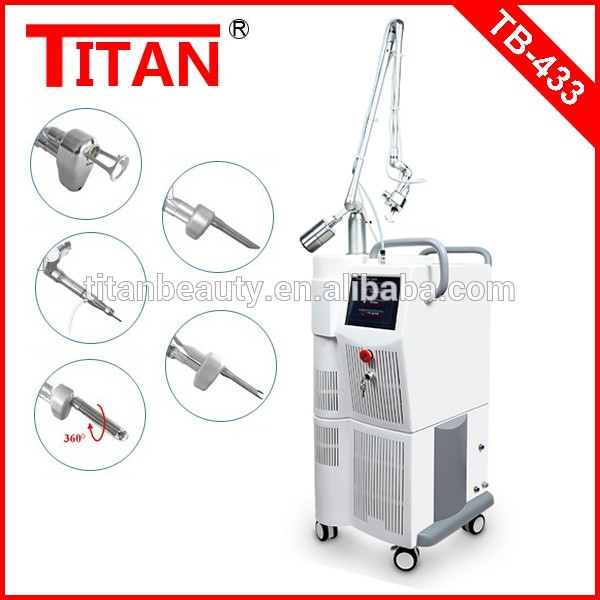 Titan Beauty Equipment By Alibaba Express China Verticle Fractional Co2 Laser/women Vaginal Tightening Machine