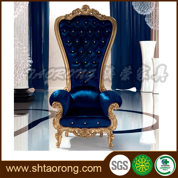 China factory direct luxury royal wedding throne chairs for sale