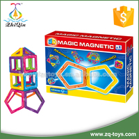 2010 New educational magnetic connect toys for children