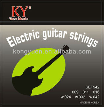 Nickel electric guitar strings,guitar bridge tailpiece