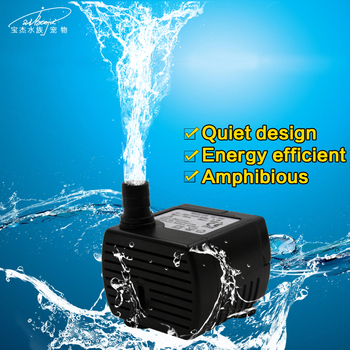 2w 200L/h CE Submersible Pond Water Pump/Mini Fish Tank Aquarium Water Pump