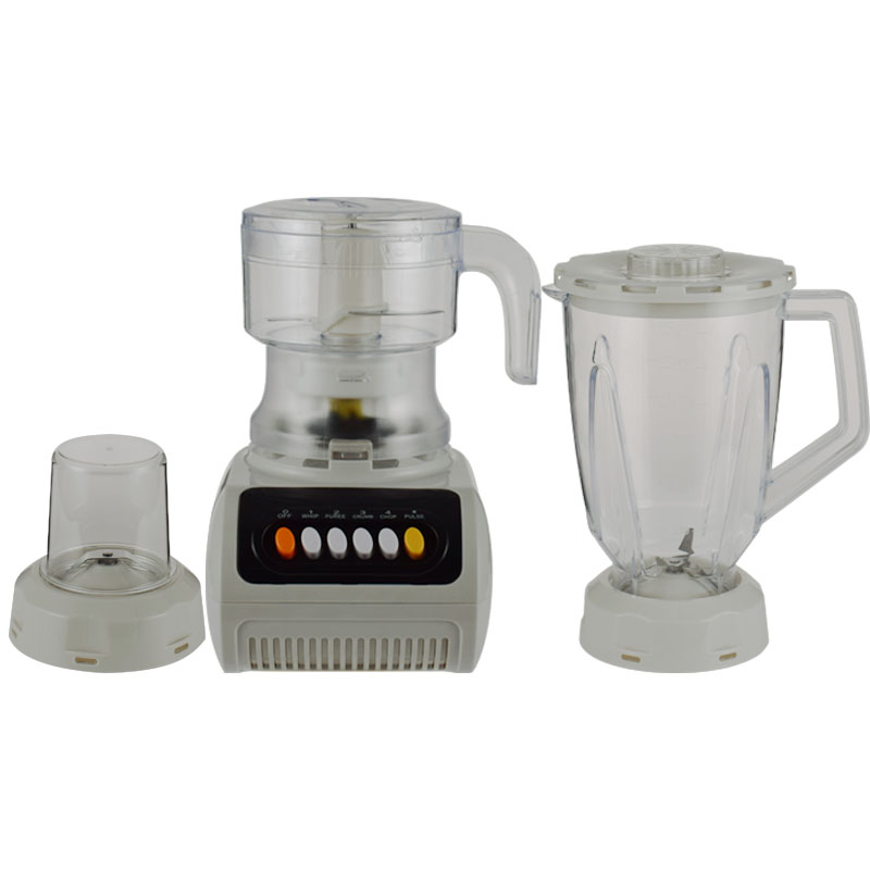 Fully stocked own mould 3 in 1 food processor with blender mixer and chopper