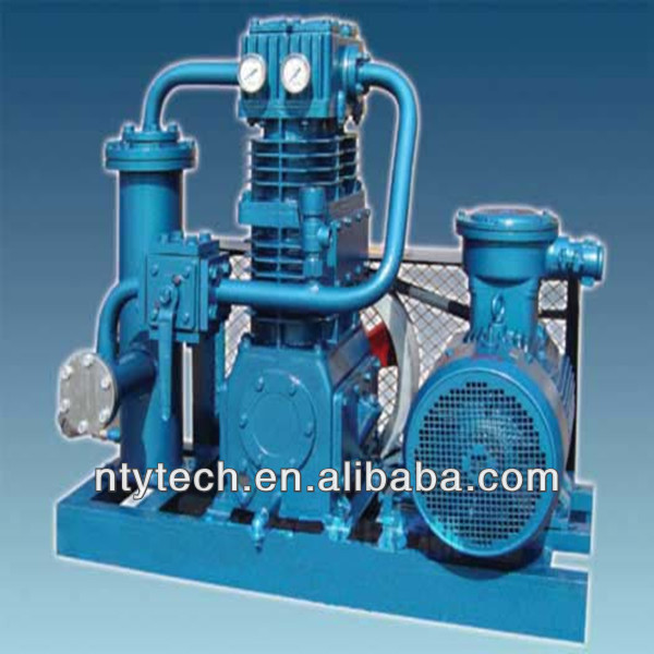 high efficiency and energy-saving Liquefied Petroleum Gas Compressor for gas / liquid handling of low boiling point