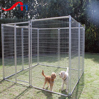 large dog cage / welded wire mesh dog kennel for sale