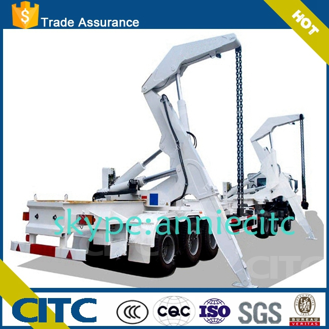 self-loading container trailer /side lifter trailer 20&40 container model YCY9351TJZG