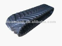 Tracked vehicles snow rubber track for sale