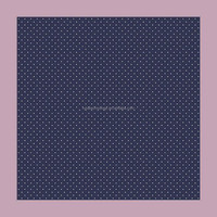 New 100% silk small dots printing handkerchief
