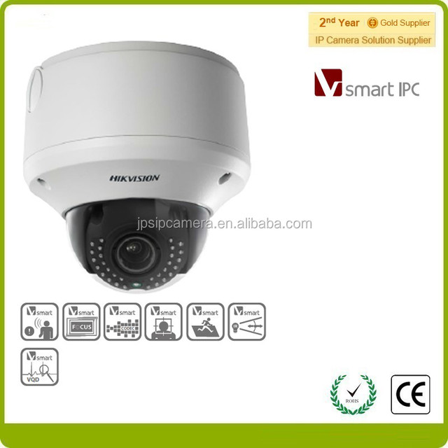 Hikvision smart IPC cctv systerm DS-2CD4312FWD-IZHS Smart IR, Face Detection,built-in heater network camera
