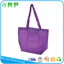Full color printed reusable bag polyester for advertising promotional