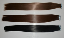 alibaba express synthetic hair tape hair extension 1B/18inch, 12#//20inch 3 packs hair extension