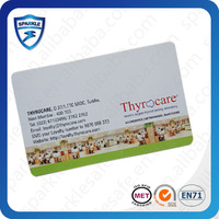 PVC rfid id card number design cheap price for door/mangement