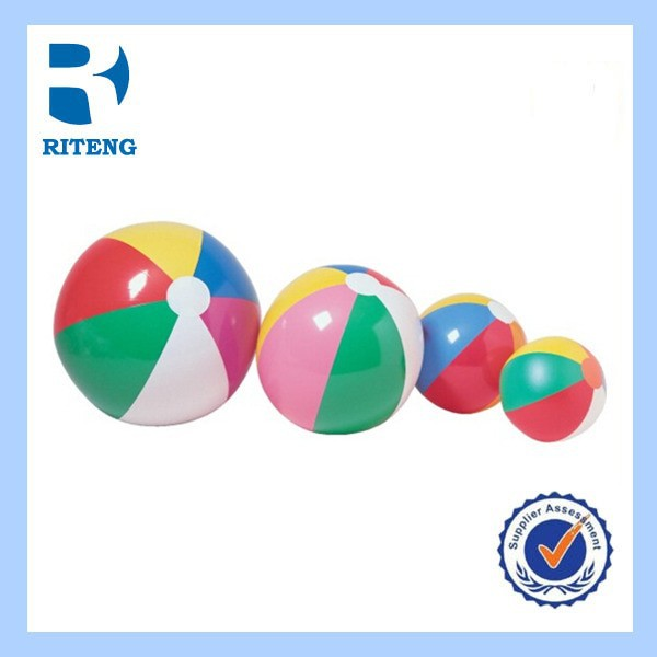 cheap high quality sports supplies inflatable beach ball set