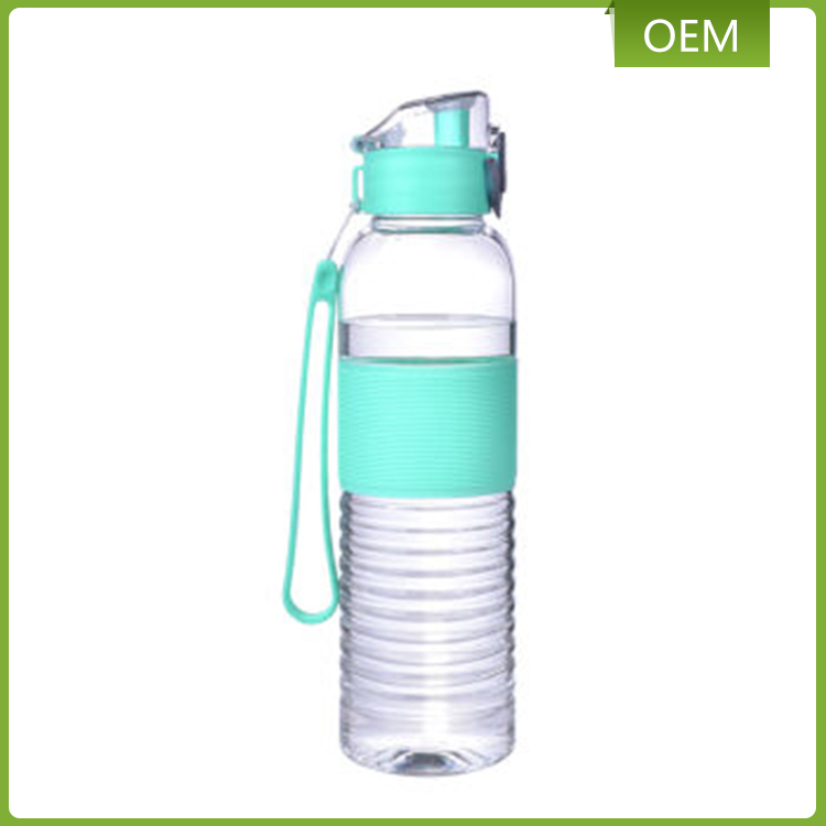 Promotional gift eco-friendly PCTG material 420ml clear plastic children drinking water bottle