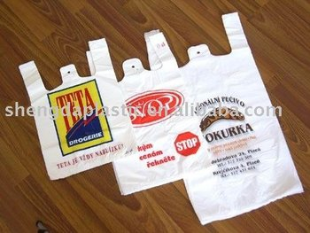 sell PE printed shopping bags