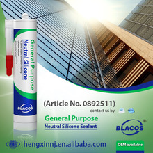 Non Yellowing Fast Curing Silicone Based Neutral Glazing Sealant