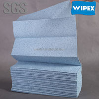 2014 China top sale Blue Meltblown crow foot wipes Wholesale