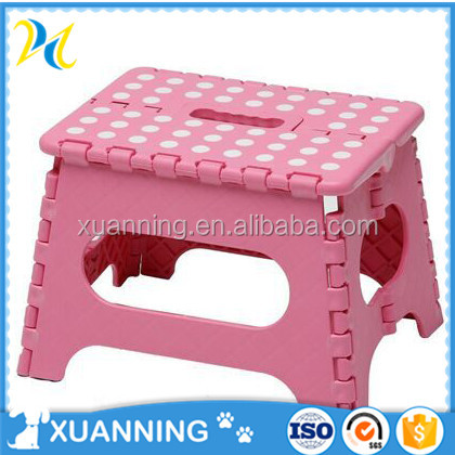 foldable portable stool kids plastic stool toilet step stool
