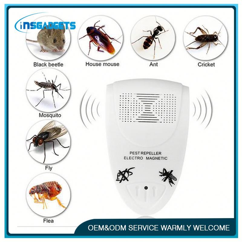 portable ultrasonic electric outdoor pest control mosquito ,XH-169, ultrasonic pest repeller pest control