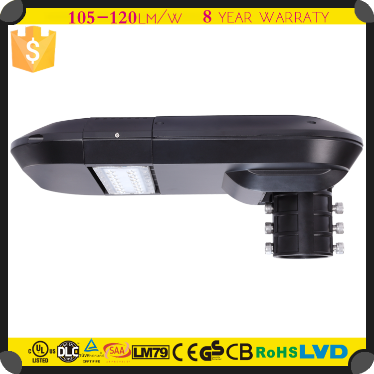 20w Solar LED Street Lights Retrofit Kits Dimmable Photocell LED Garden Lights