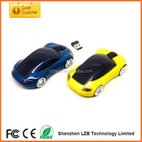 Fashionable car cordless mouse Black 2.4GHz Wireless Optical Mouse Mice+USB 2.0 Receiver For Laptop Desktop PC