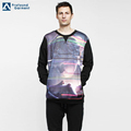 hot sale printed fashion mens fitted crop top black pullover hoodie