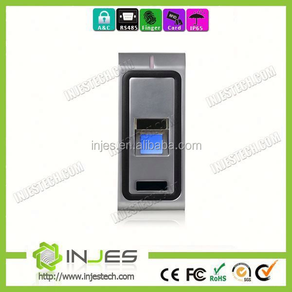 Mini Size USB RS485 Base Fingerprint Swipe Card Access Control