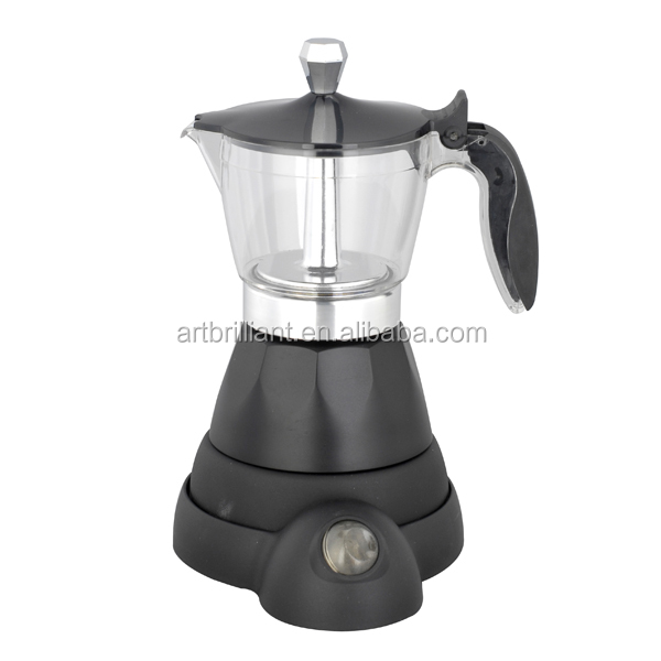 electric moka coffee maker