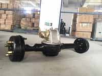 High Loading 1500w Semi Suspended Rear Axle for Gas Motor Tricycle