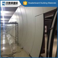 Factory main products! custom design 4x8ft fireproof waterproof flexible cement fiber siding for 2015