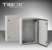 Metal/steel RAL7032 or RAL7035 metal lock box/wall mount enclosure/power distribution box