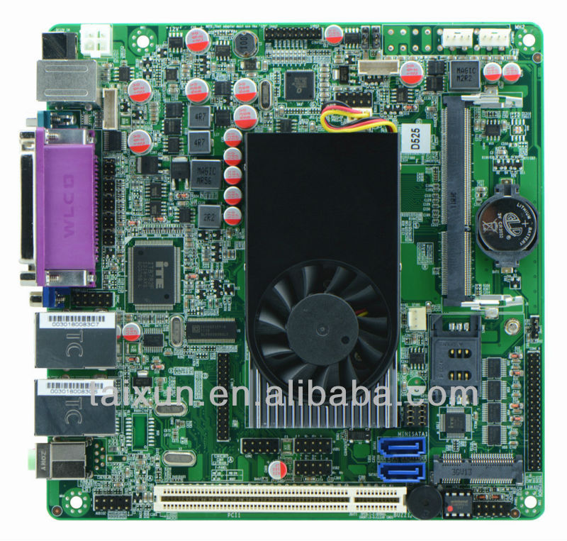 car computer motherboard / 170mm x 170mm motherboard /POS machine motherboard