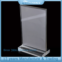 A6/ A5/ A4 Clear Transparent Acrylic Display Sign Holder/ Table Stand