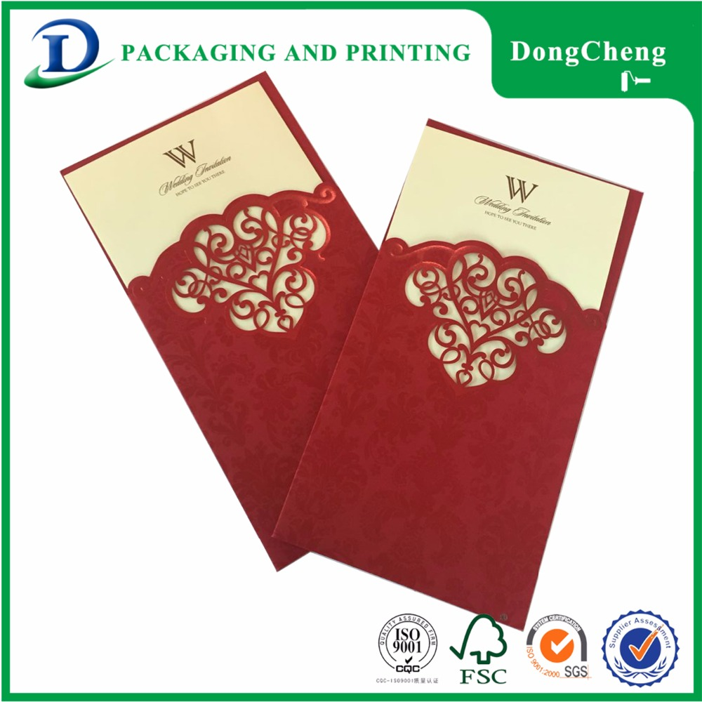 Various size velvet paint shade wedding invitation birthday greeting card