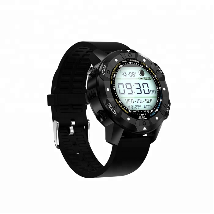 2018 ODM Waterproof Sport Heart Rate Monitor Rugged Smart Watch Mobile Phone