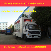 P8 Stl Outdoor Led Digital Mobile Billboard Truck For Sale