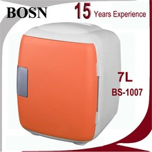 2016 BOSN 8 Liters Factory Direct Sale car fridge 12 liter portable mini freezer with transparant door