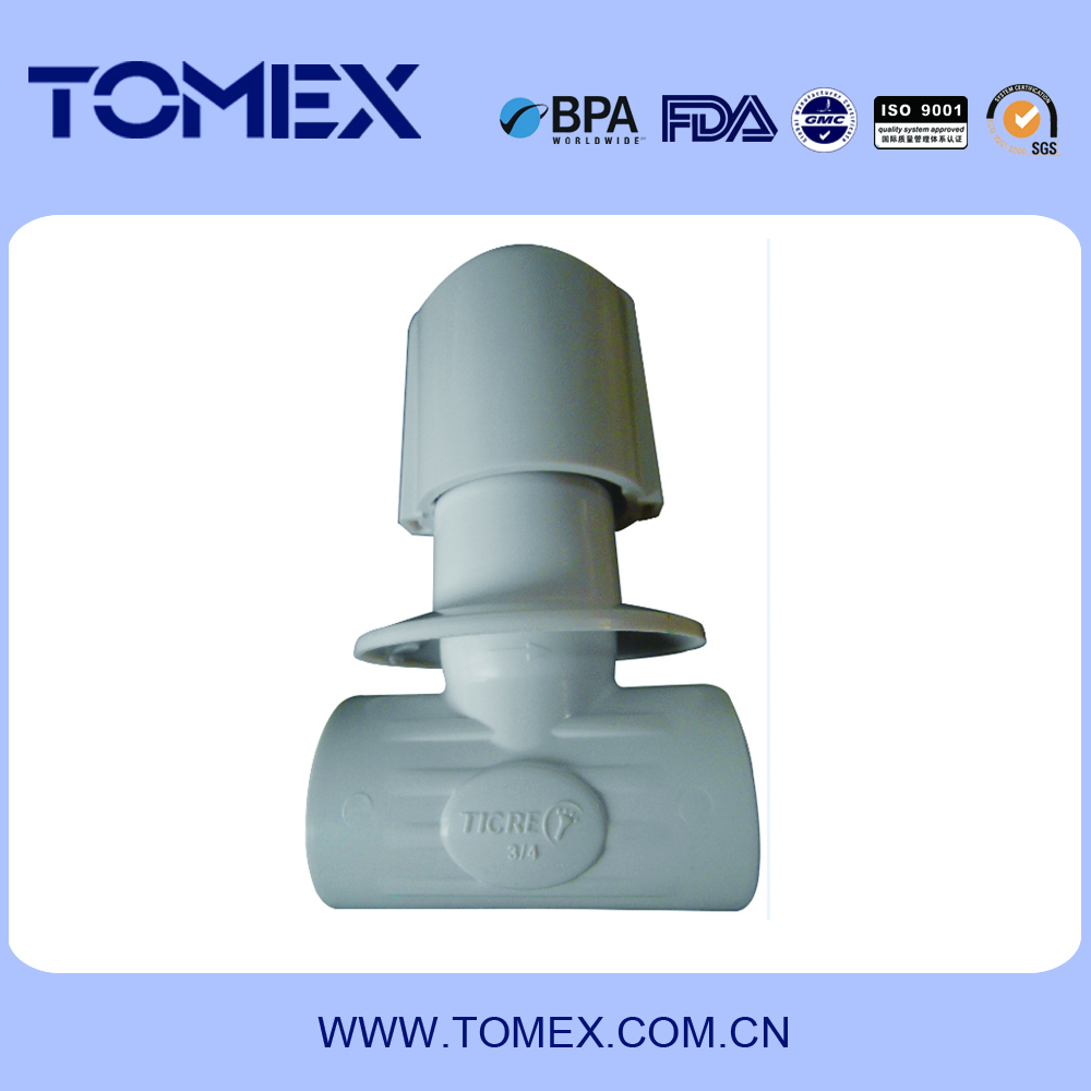 2016 china supplier valve manufacture dn25 plastic pvc gate valve
