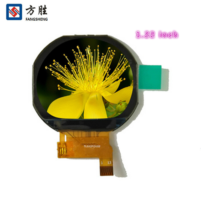 Round 1.22 inch IPS TFT lcd display all reviwing 240(RGB)x204 Lcd display <strong>module</strong> for smart watch