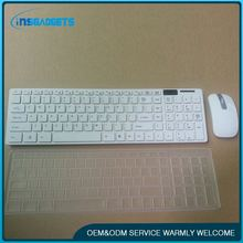 Ultra-thin keyboard ,h0tdf white wireless keyboard with touchpad for sale