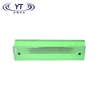 YT transparent self-luminous ABS double faced trapezoid guardrail delineator as bridge reflector delineator