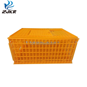 High quality plastic poultry transport cage chicken coop