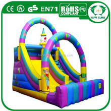 HI CE good design cheap outdoor largest inflatable water slide,plastic slide viewer