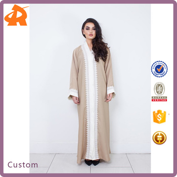 custom made hot selling islamic abaya dubai fabric,open cheap abaya in china