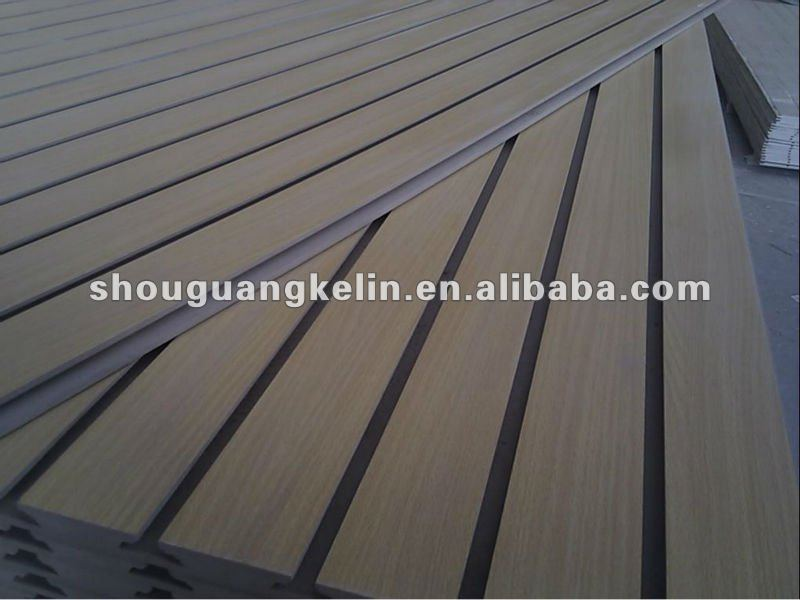 hot selling 4' *8' Slotted MDF Board /Slatwall/slat wall panelSlatwall Specification Name Slatwall,slot board,slotted board,