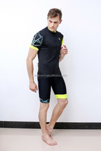 Sublimation Custom Made High Quality Cycling Wear Cool Black bicycle shirt custom cycling wear never fade bike clothes